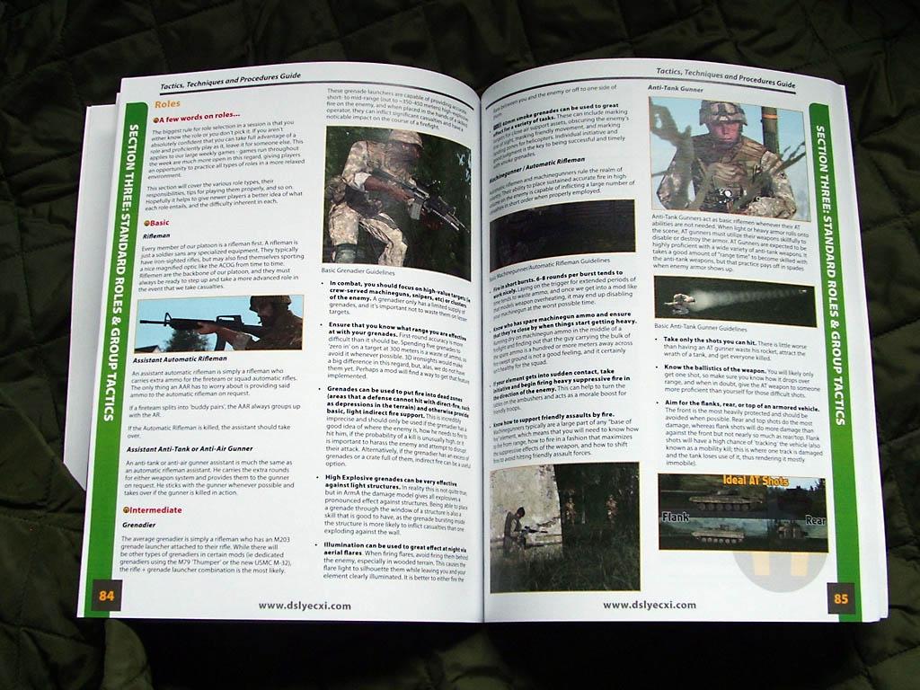 The ArmA TTP in print form – coming soon! » dslyecxi com
